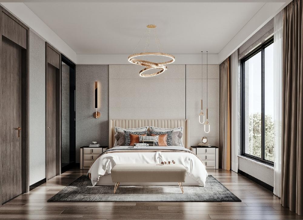 140方套房现代简约系,看完就爱上了!