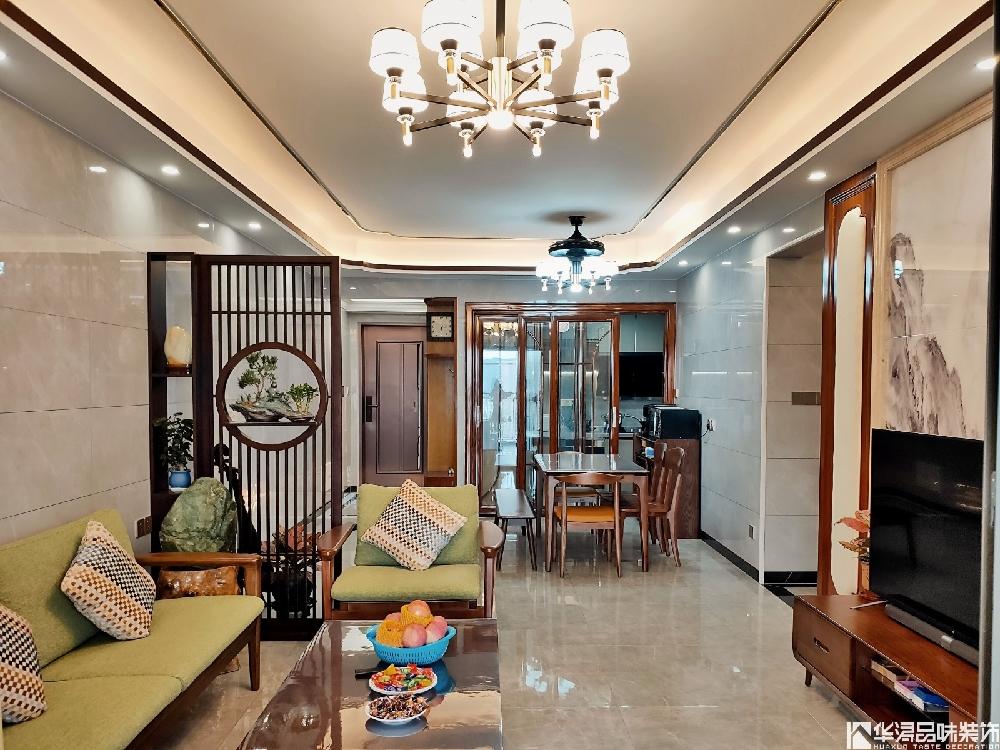 124方新中式天骄御景刘叔的新家