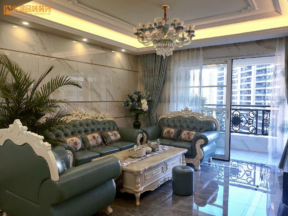 130方欧式装修风格三居室装修,打扫干净特漂亮!