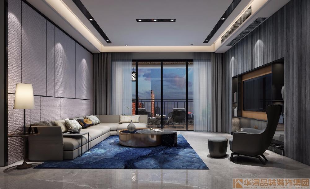 四居室 现代风格装饰海逸半岛 实景案例