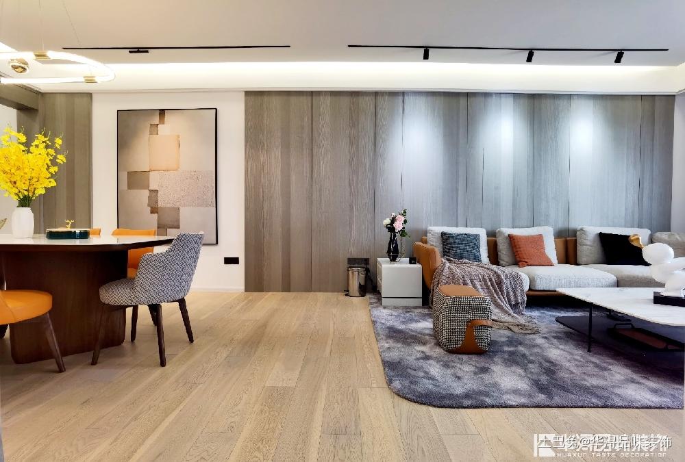 143㎡四居室现代简约,舒适的空间~