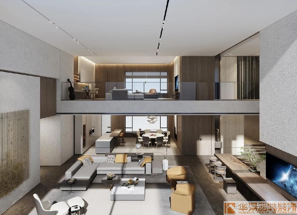 港式现代别墅豪宅设计案例